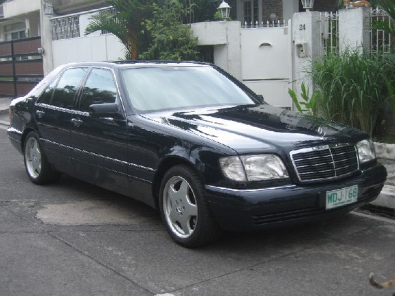 gelot 1996 mercedes benz s class specs photos