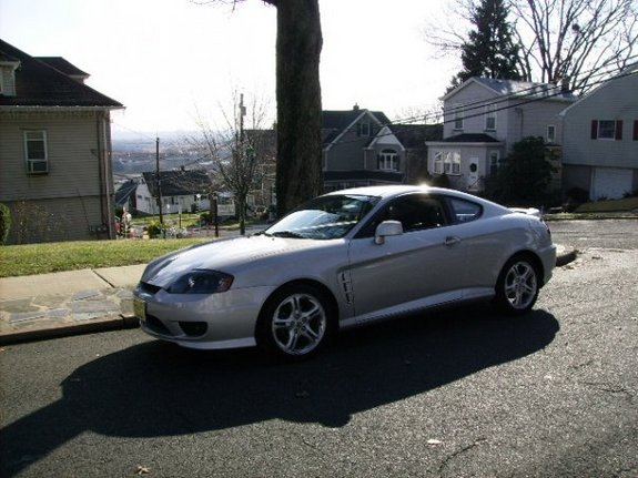 silvertibbygt 39 s 2006 hyundai tiburon in carlstadt nj. Black Bedroom Furniture Sets. Home Design Ideas