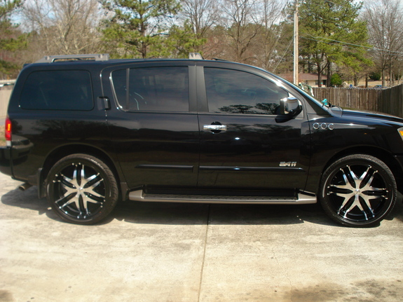 lildave74 39 s 2004 nissan pathfinder armada in mississippi ga. Black Bedroom Furniture Sets. Home Design Ideas
