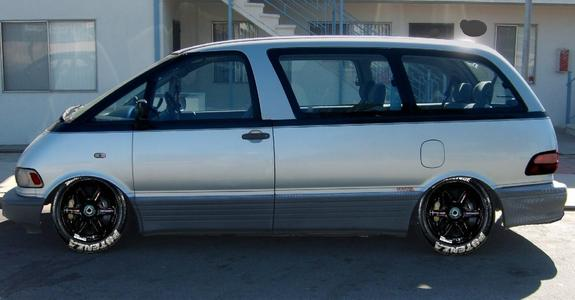 crispaul 1993 Toyota Previa Specs, Photos, Modification ...