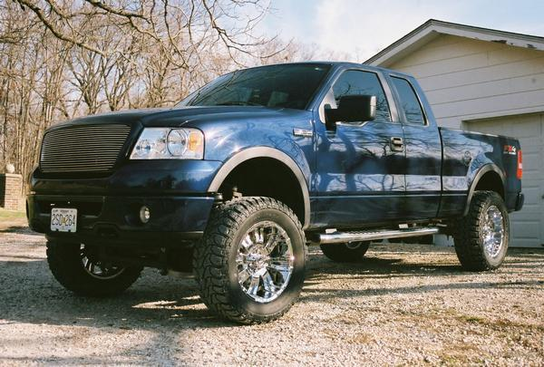 jimmy locke 2007 ford f150 regular cab specs photos modification info at cardomain. Black Bedroom Furniture Sets. Home Design Ideas