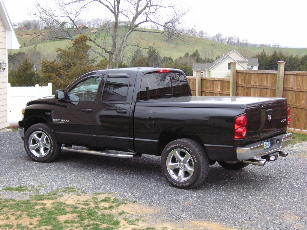 rodie40 2007 dodge ram 1500 quad cab specs photos modification info at cardomain. Black Bedroom Furniture Sets. Home Design Ideas
