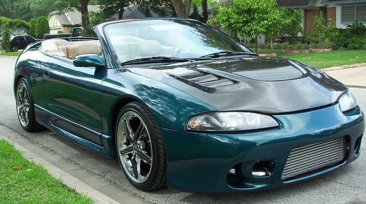 phateclipsettu3 39 s 1997 mitsubishi eclipse gs t spyder convertible 2d in katy houston tx. Black Bedroom Furniture Sets. Home Design Ideas