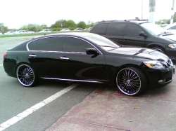 gs350on22ss 2007 Lexus GS