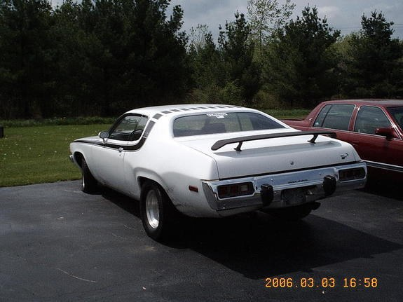 Another super96stang 1973 Plymouth Roadrunner post    Photo