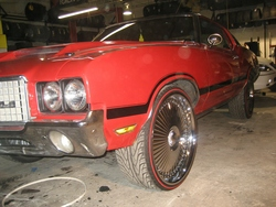 CHITOWNSILLESTs 1972 Oldsmobile 442