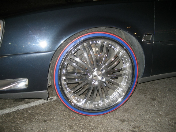 CHITOWNSILLEST 2004 Cadillac DeVille 11197379