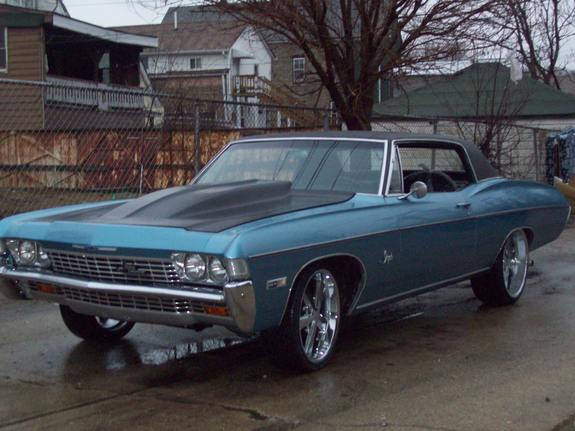 thesick68 1968 Chevrolet Impala