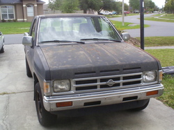 nap260zs 1991 Nissan Regular Cab