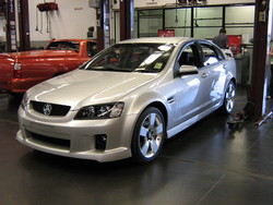 lx8vd77 2007 Holden Commodore