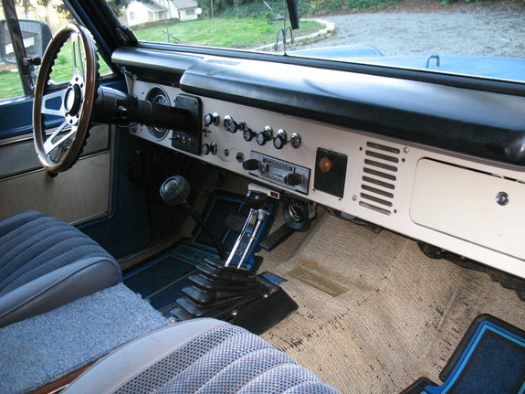 1969 Ford Bronco Interior Spotmandoo 1969 Ford Bronco