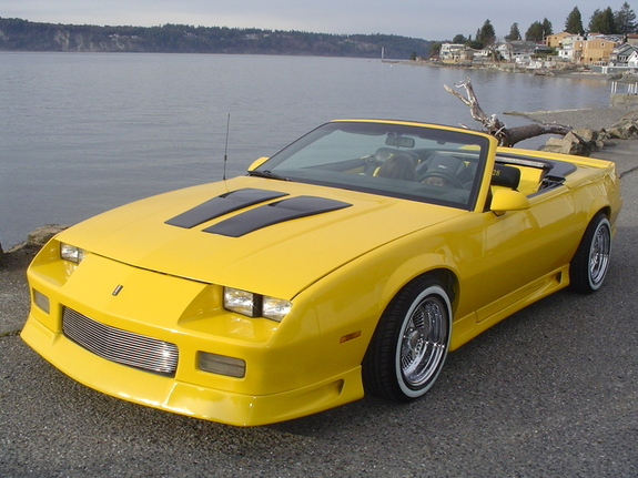 Djtaber 1991 Chevrolet Camaro Specs Photos Modification