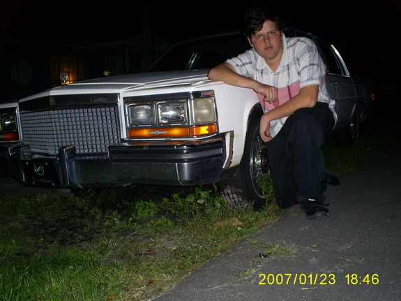 Another dragonsrage86 1987 Cadillac Brougham post... - 9425027