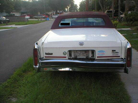 Another dragonsrage86 1987 Cadillac Brougham post... - 9425028
