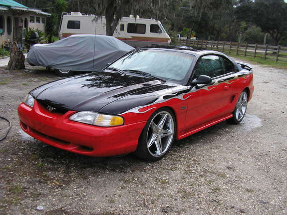 Pullincustoms 1996 Ford Mustang Specs Photos