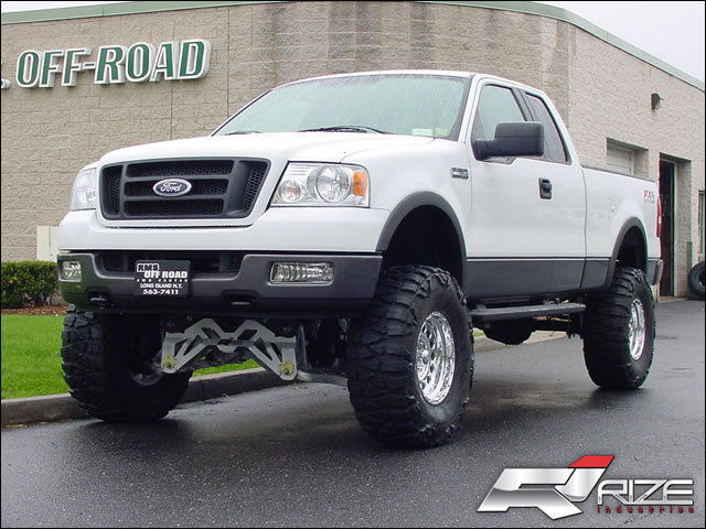 Ford F150 Fx4 Lifted. 8quot; Rize suspension lift: