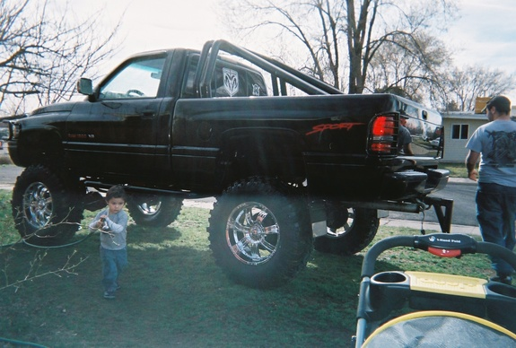 Large on 1997 Dodge Lifted