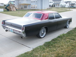 sittinonspokess 1968 Lincoln Continental