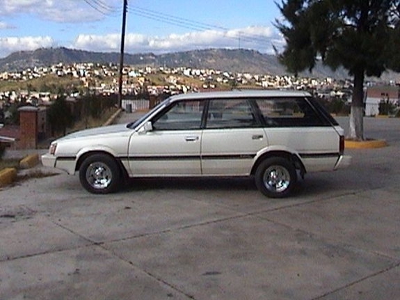 It is a Nice Subaru Loyale from 1985, with the EA82 Engine, Featuring lots