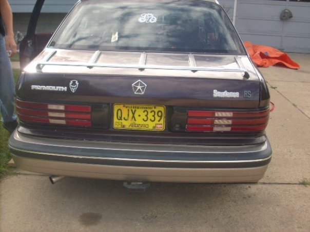 Another Kingplymouth 1989 Plymouth Sundance post... - 11224777