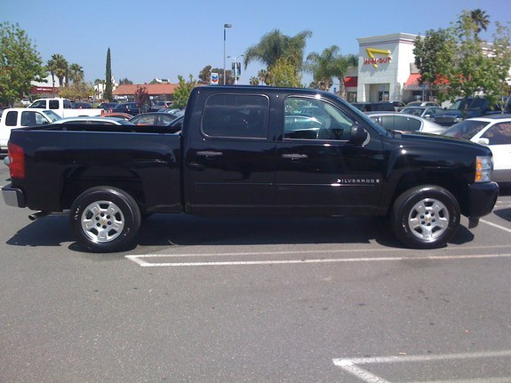 Another Murdered-Knight 2008 Chevrolet Silverado 1500 Crew Cab post... - 11228740