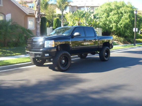 Another Murdered-Knight 2008 Chevrolet Silverado 1500 Crew Cab post... - 11228755