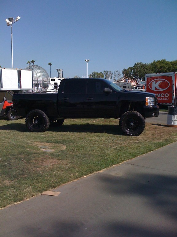 Another Murdered-Knight 2008 Chevrolet Silverado 1500 Crew Cab post... - 11228761