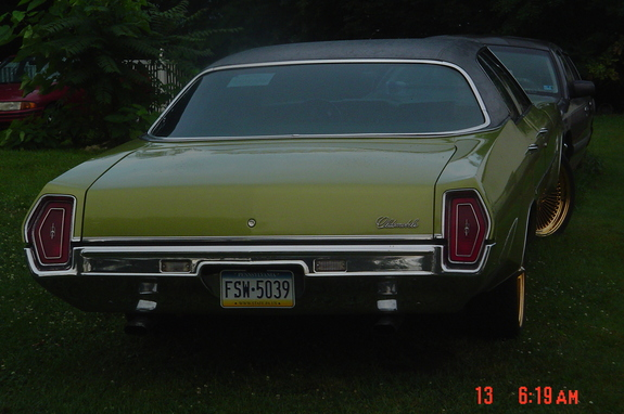 Another BossGame704 1971 Oldsmobile Delta 88 post... - 11234068