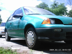Too-Fast-too-see 1994 Chevrolet Metro