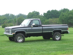 JB454 1987 Chevrolet Silverado 1500 Regular Cab