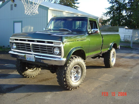 1973 ford f250 specs