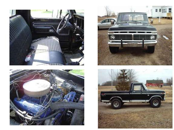 1973 Ford F150 Regular Cab