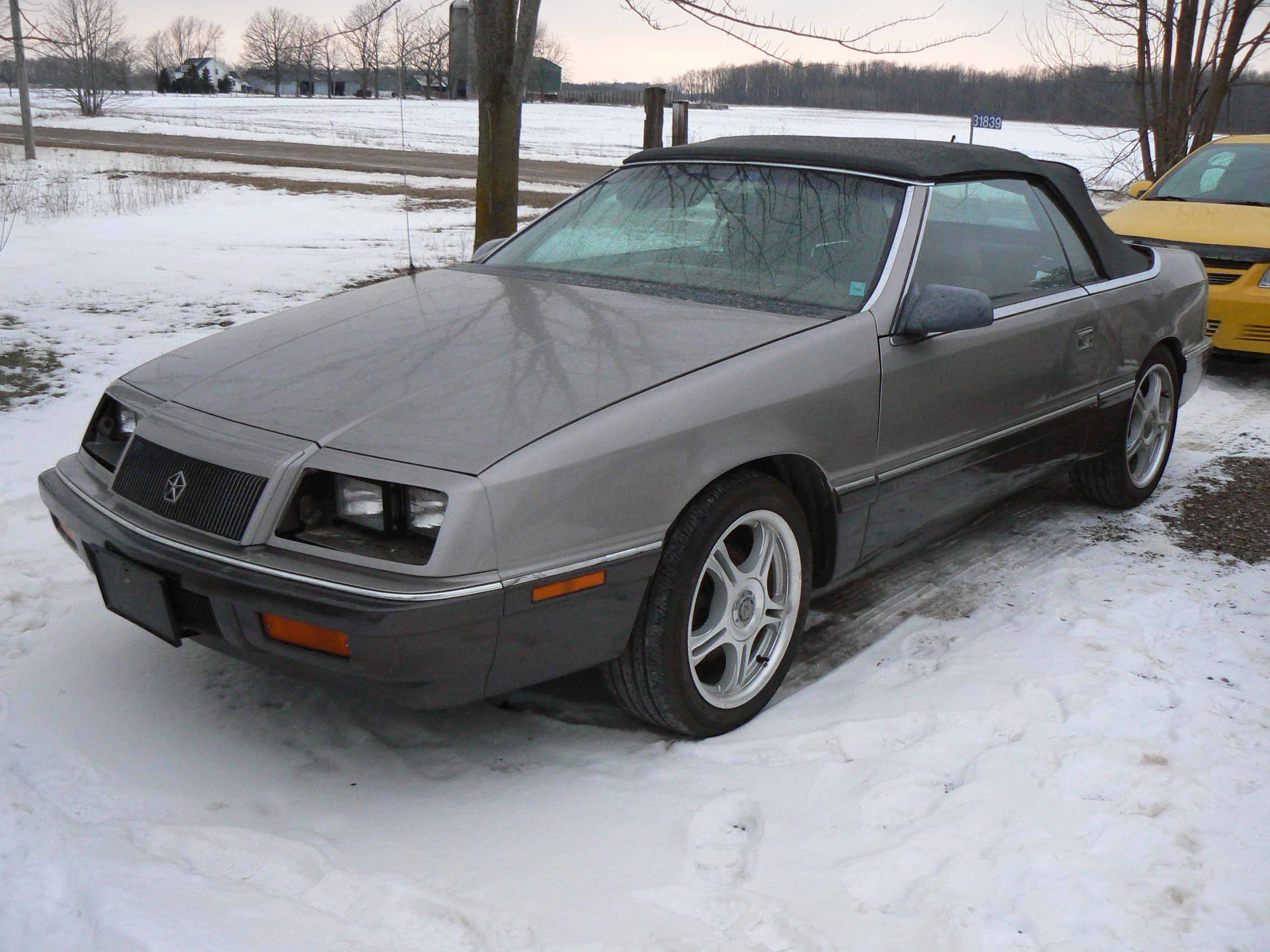 Another banger68 1987 Chrysler LeBaron post... - 11269188