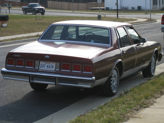 Another whitenoise116 1984 Chevrolet Caprice post... - 11276146