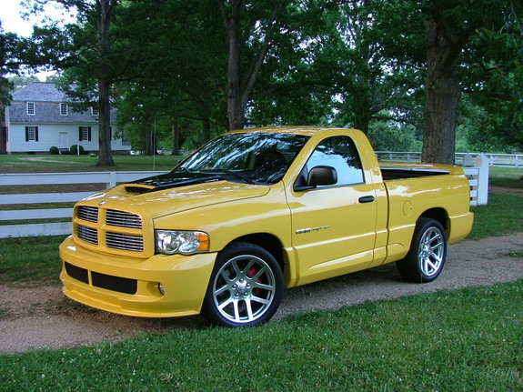 yellowfever110 2005 dodge ram srt 10 specs photos modification info at cardomain. Black Bedroom Furniture Sets. Home Design Ideas