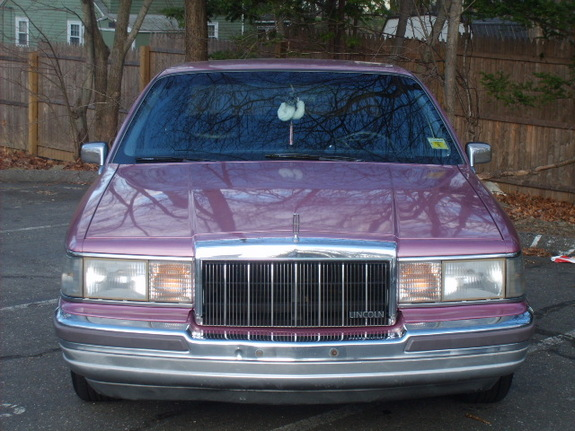 Another Pink Stinkin 1990 Lincoln Town Car Post Photo 11286873