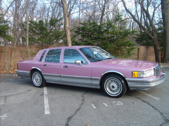 Another Pink Stinkin 1990 Lincoln Town Car Post 3291147 By
