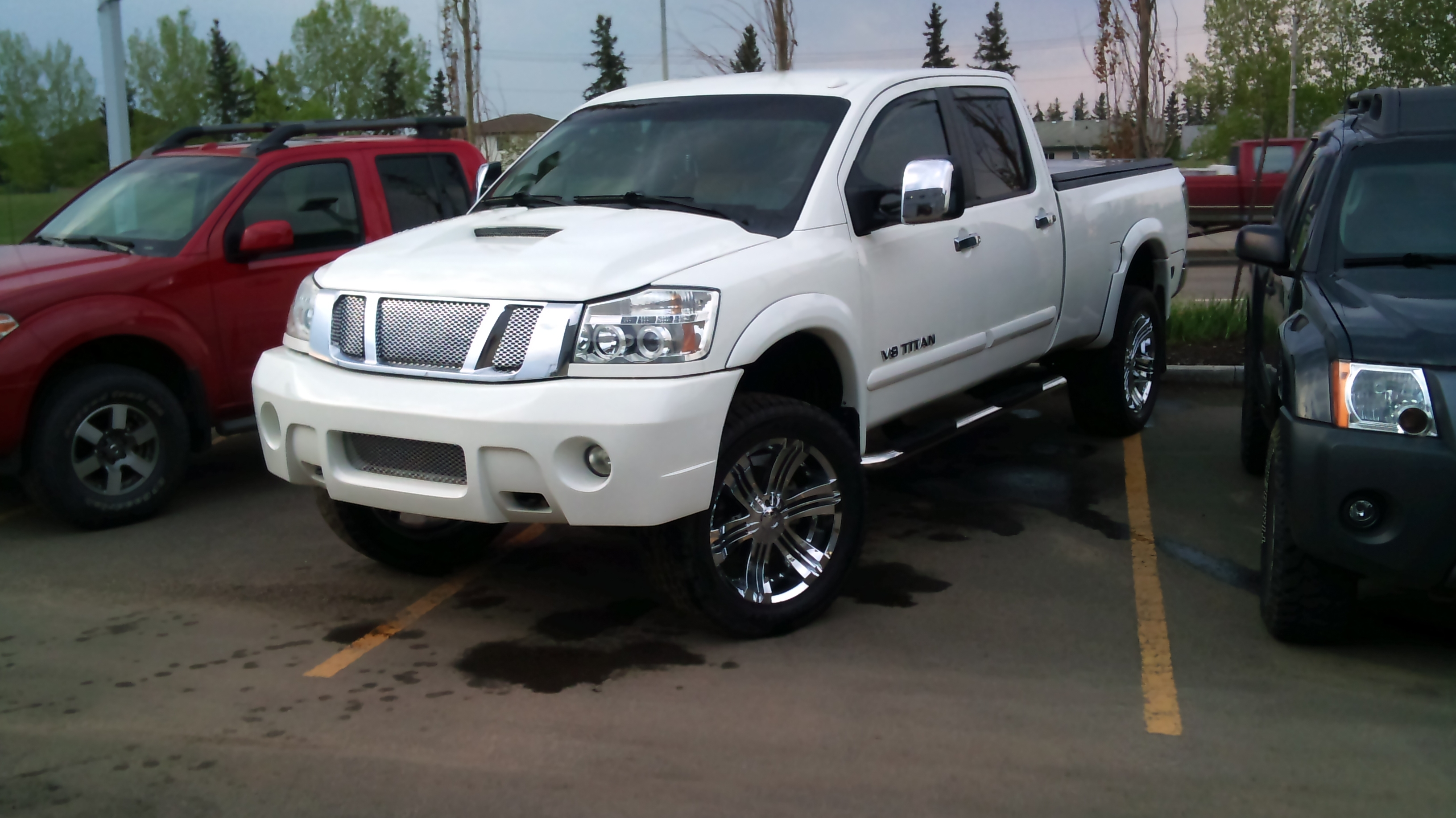 rafals 39 s 2008 nissan titan crew cab in grande prairie ab. Black Bedroom Furniture Sets. Home Design Ideas