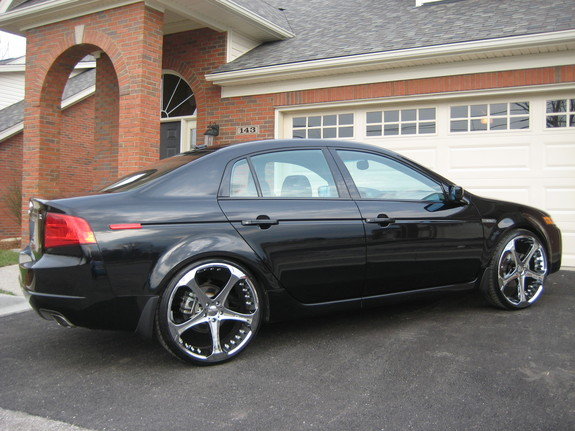DBstlons Acura TL Specs Photos Modification Info At CarDomain - 2006 acura tl rims