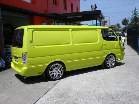 Albertrimz 2001 Toyota Hiace Specs Photos Modification