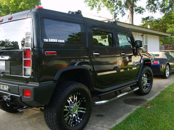 The Ammo Chick 2006 Hummer H2 Specs Photos Modification Info At Cardomain