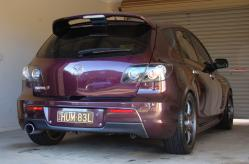 Humble_Purples 2006 Mazda MAZDA3
