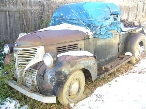 dirtybelly's 1941 Plymouth Deluxe