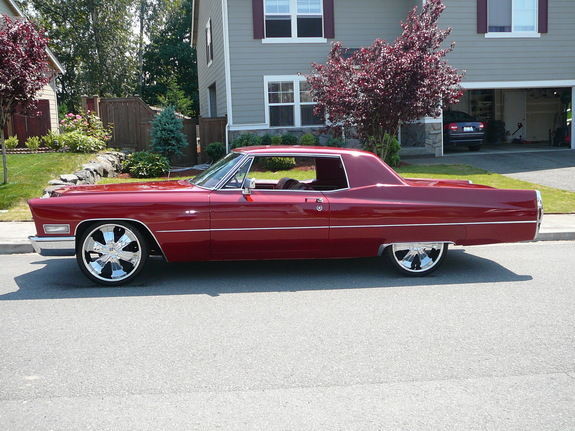 Yesler11 1968 Cadillac Deville Specs Photos Modification