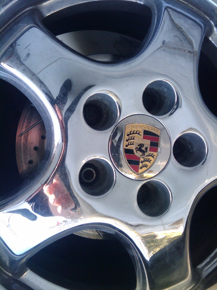 Porsche 964 cup 2 chrome rims,