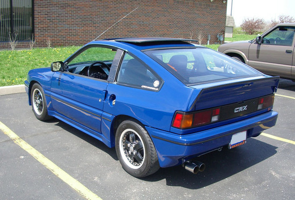 funkdeluxe 1985 honda crx specs photos modification info. Black Bedroom Furniture Sets. Home Design Ideas