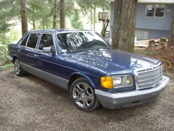 willie360 1985 Mercedes-Benz 500SEL