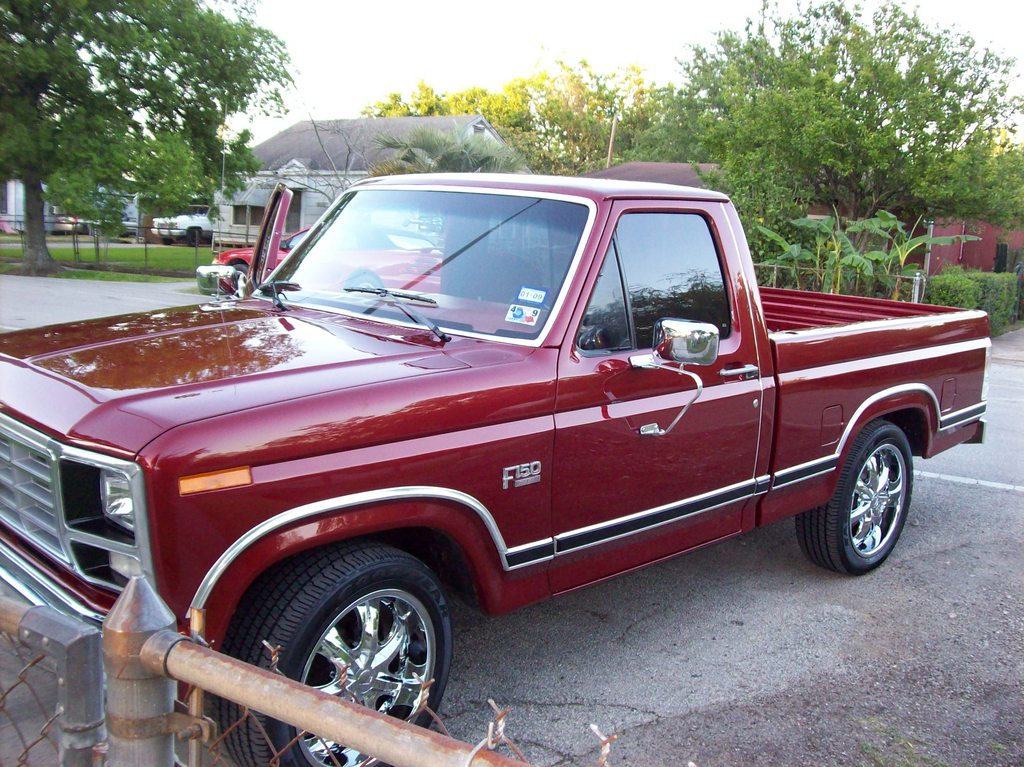83 ford truck