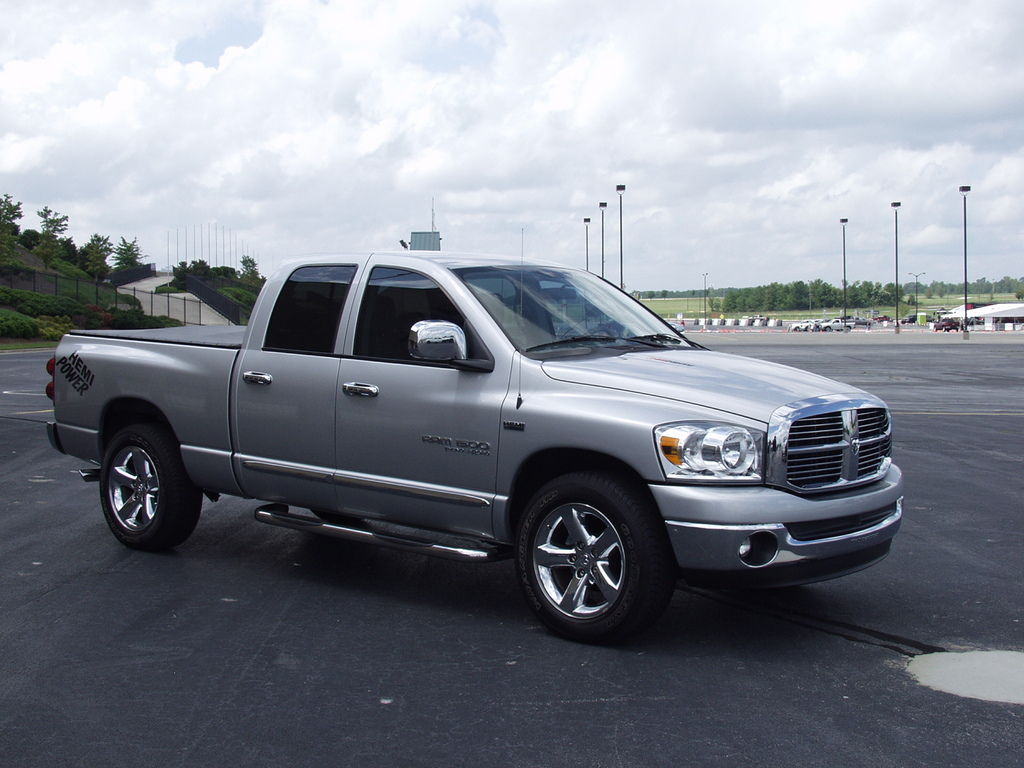 Large on Dodge Ram 1500 Hemi