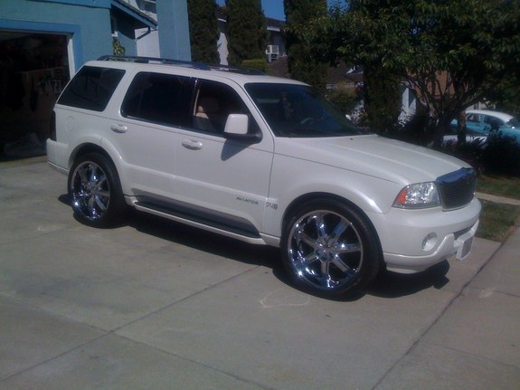 gotchuthinkin 2004 lincoln aviator specs photos. Black Bedroom Furniture Sets. Home Design Ideas